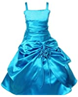 Pink Wings Girls Party Wear Dress/Gown