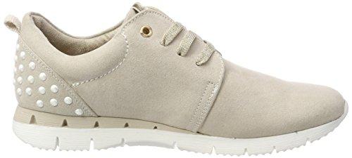 para Mujer Oxford Cordones Tozzi Marco de Dune Beige Zapatos 23708 YCwpqxYBA0