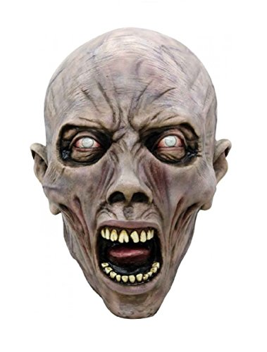 Ghoulish Masks Adult 3/4 Scary Head Mask Scream Zombie World War Z Halloween Scary Costume Accessory