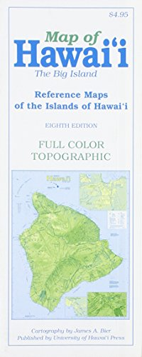 Map Of Hawaii  The Big Island  Reference Maps Of The Islands Of Hawai I