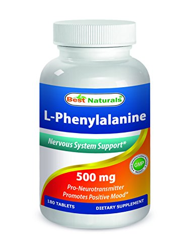 Best Naturals L-Phenylalanine 500 mg 180 Tablets