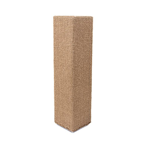 Sofa-Scratcher Squared' Cat Scratching Post & Couch-Corner/Furniture Protector (Light Brown)