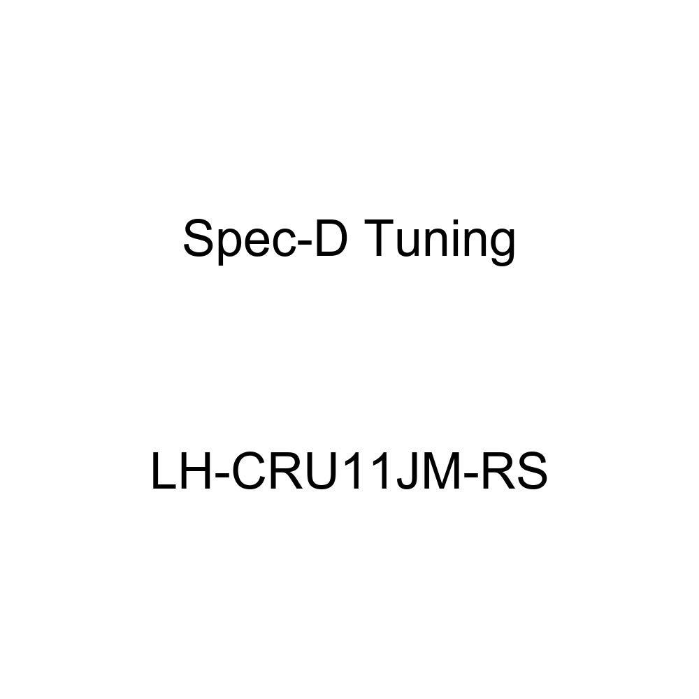 Spec-D Tuning LH-CRU11JM-RS Black Headlight Crystal Housing