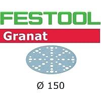 Festool 575155STF D150/48P80GR/10discos de papel de lija, acero