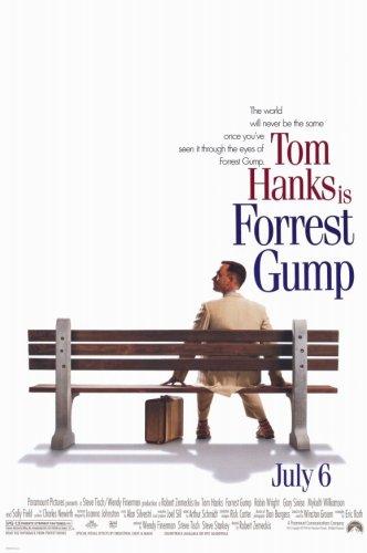 (Pop Culture Graphics Forrest Gump (1994) - 11 x 17 - Style A)