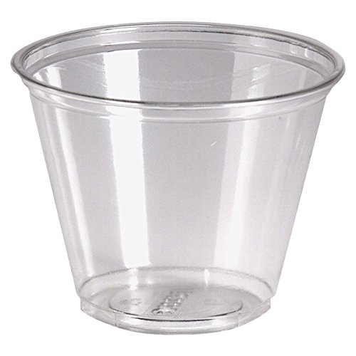 - Dixie Crystal Clear Plastic Cups, 9 Oz, Box of 1,000