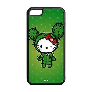 MMZ DIY PHONE CASEMystic Zone Cute Japanese Cartoon Tokidoki Cover Case for Apple iphone 5/5s -(Black and White) -MZ5C00134
