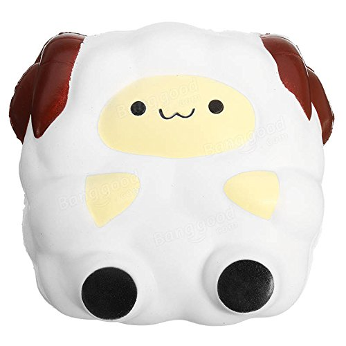 umbo Sheep Lamb 12cm Sweet Soft Slow Rising Collection Gift Decor (Sheep Collection)