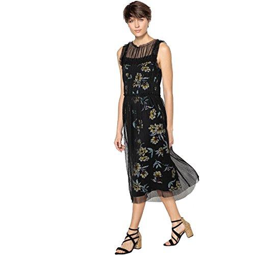 Redoute Kleid La Frau Schwarz Gerades Armelloses Collections ZqdwfRHdU