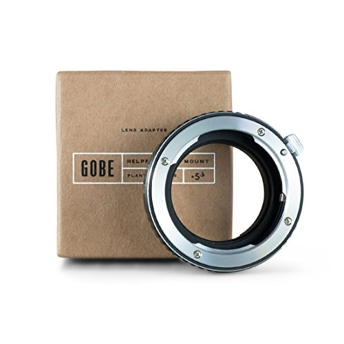 Gobe Lens Adapter: Compatible with Pentax K-mount Lens and Canon EOS M (EF-M) Camera Body