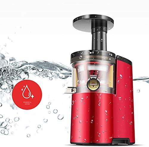 JJSFJH Ultra Juicer Machine Extractor met langzame koude persing Masticating Squeezer mechanisme, huishouden, volautomatische mini student multifunctionele vruchtensapmachine