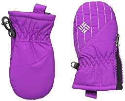 Columbia Baby Infant Chippewa Mitten, Bright Plum/Hydrangea, O/S