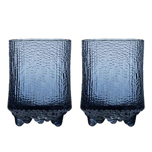 Iittala Ultima Thule Old Fashioned Set of 2 Glasses, Rain by Tapio Wirkkala