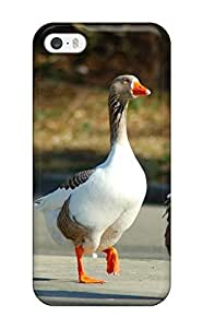 Fashion LehjBmo6999WNqTe Case Cover For Iphone 5/5s(afternoon Waddle Domestic Geese Walking Animal Bird)