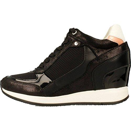 Calzado deportivo para mujer, color Negro , marca GEOX, modelo Calzado Deportivo Para Mujer GEOX D NYDAME Negro Negro