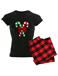 CafePress - Christmas - Womens Novelty Cotton Pajama Set, Comfortable PJ Sleepwear
