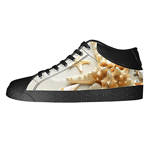 Dalliy Strand-Seestern Mens Canvas shoes Schuhe Lace-up High-top Sneakers Segeltuchschuhe Leinwand-Schuh-Turnschuhe A