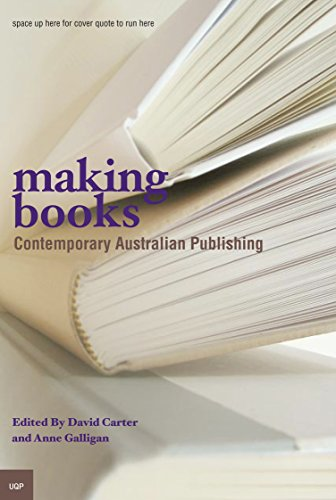 Making Books: Studies in Contemporary Australian Publishing