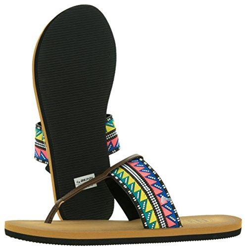 De Negro Talla Sintético Sandalias Beppi 36 Eu Material Para Color Mujer 5P0Bq07x