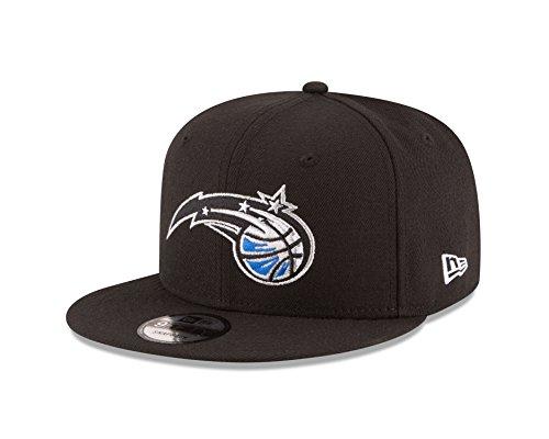New Era NBA Orlando Magic Adult Men NBA 9Fifty Team Color Basic Snapback Cap,OSFA,Black