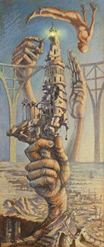 The Lighthouse (Limited Edition on Fine Art Paper - 18x42 in) by