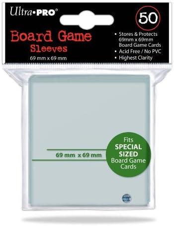 Ultra Pro E-82659 Fundas para Cartas, Adultos Unisex, Transparente, 69 x 69 mm: Amazon.es: Deportes y aire libre