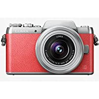 Panasonic LUMIX G DMC-GF8K with 12-32mm Lens Kit (Pink) (International Model) No Warranty