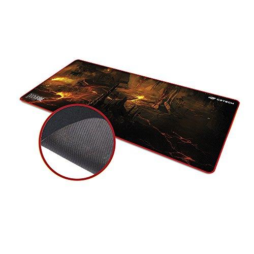 Mouse Pad C3 Tech, Gamer Doom Fire MP-G1100
