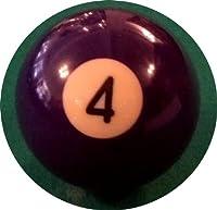 Billard-Einzelkugel 57,2 mm - Nr. 4