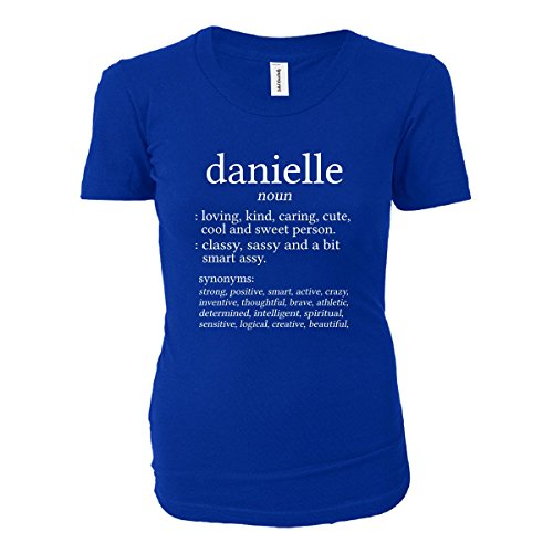 Danielle Meaning. Dictionary Format. Funny Gift - Ladies T-shirt