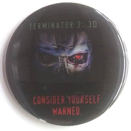 - Terminator 2 3D Lenticular Card AND Lenticular Button Set #3