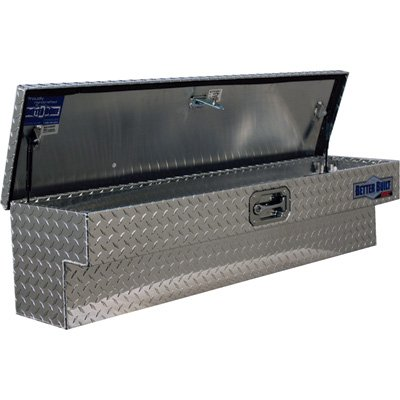 Better Built SEC Series Aluminum Side-Mount Truck Box - Diamond Plate, 48in.L x 11 1/2in.W x 11in.H Diamond Plate Handle
