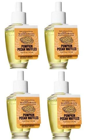 Bath and Body Works Pumpkin Pecan Waffles Wallflowers Fragrance Refill. 0.8 Oz.