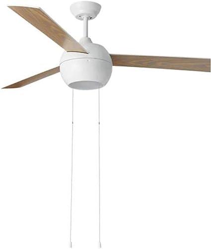 IKEA STORMVIND Ventilador de techo de 3 aspas con luz [13 1/2 x 7 ...