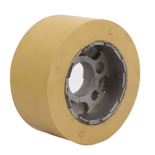 uxcell 100mm x 28mm x 50mm Silicone Pinch Roller Rolling Wheel Woodworking by uxcell