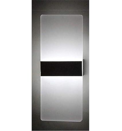 Aplique De Pared Led Exterior De Aluminio Acrílico Foco Proyector ...
