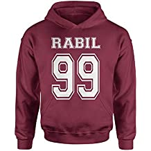 Expression Tees Rabil 99 Lacrosse Youth-Sized Hoodie