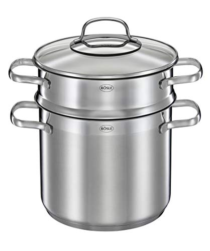 Rosle Stainless Steel Pasta Pot with Glass Lid, One Size by Rosle (Image #2)
