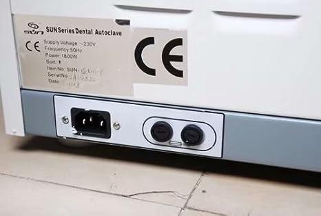 Superdental Autoclave - Vapor pre-aspirador para equipos de ...