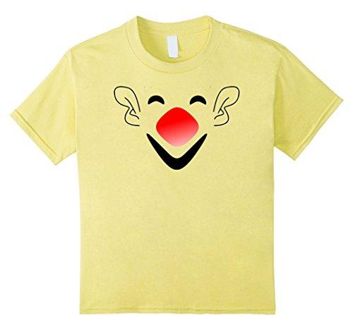 Kids Halloween Emoji Costume Clown Face Tee Men, Women,Teens,Kids 12 (Halloween Costumes 2017 For Boys)