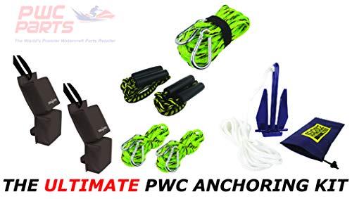 - PWC Parts Ultimate Anchoring Kit for All Personal Watercraft SeaDoo Yamaha Kawasaki Honda Polaris GTX GTI RXP-X RXT-X GTR EX Spark FX VX Cruiser Sport Deluxe Limited XLT GP-R 1200 1300 XL GP1800 VXR