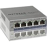 Netgear ProSafe Plus Switch, 5-Port Gigabit Ethernet