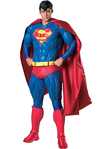 Collector's Edition Men's Foam Latex Superman Costume