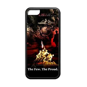 Custom Unique Design USMC Iphone 5C Silicone Case