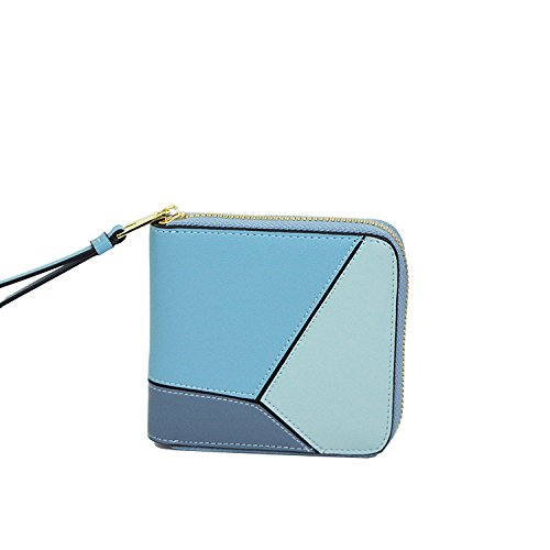 Hangbags Wallet Lightblue Fashion Casual PU Women's Leather Purse Ladies AzvIIq