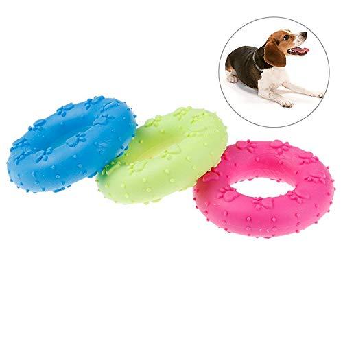 Adult Fun - 1pc Pet Dog Puppy Cat Rubber Dental Teeth Chew Circle Play Training Fetch Fun Toys - Kardashian Tooth Children Crocodil Bikini Ribbon Dentistry Shirt Stud Cover Maid Summer Adult Den