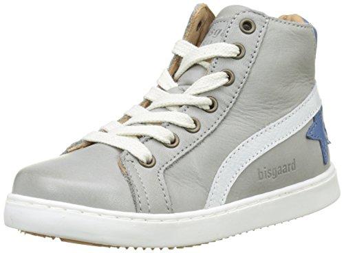 Bisgaard 31907117, Zapatillas Altas para Niños Gris (400-1 Light Grey)