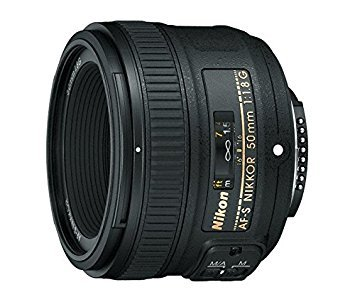 Nikon AF-S FX NIKKOR 50mm f/1.8G Lens with Auto Focus