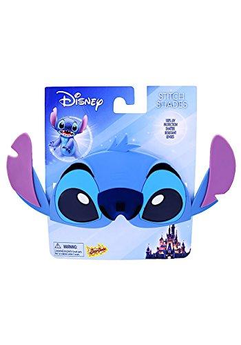 Disney Lilo and Stitch Stitch Sun-Stache Character Sunglasses, One - Sunglasses Stache