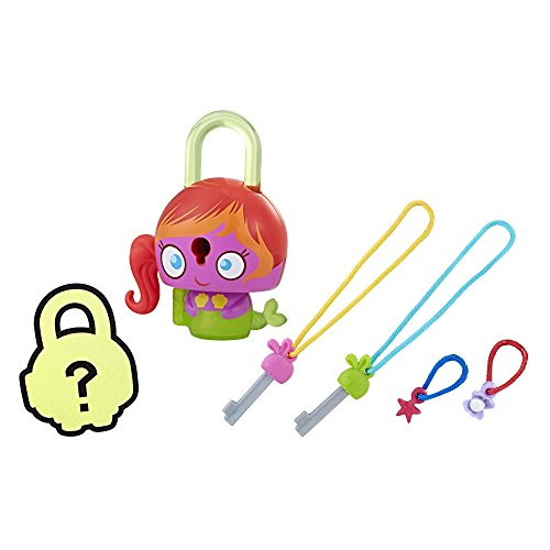 (Lock Stars Basic Assortment Purple Mermaid–Series 1 (Product may vary))